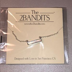 The 2BANDITS Silver Necklace